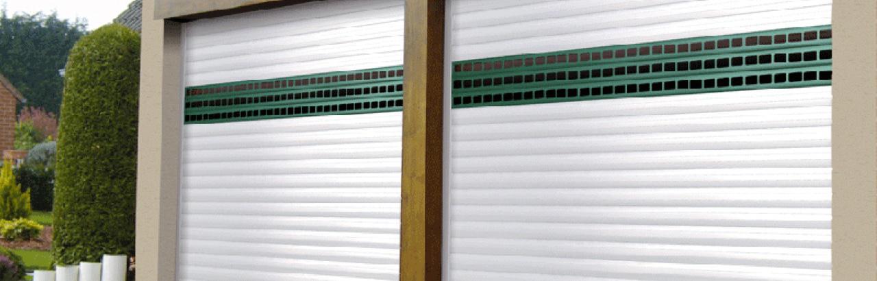 Portes De Garage à Enroulement Soprofen Visioferm Mulhouse Thann - Porte de garage a enroulement