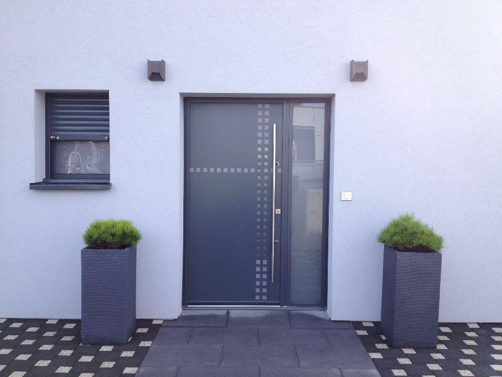 Nos Réalisations Portes Dentrée Visioferm - Porte d entrée en alu