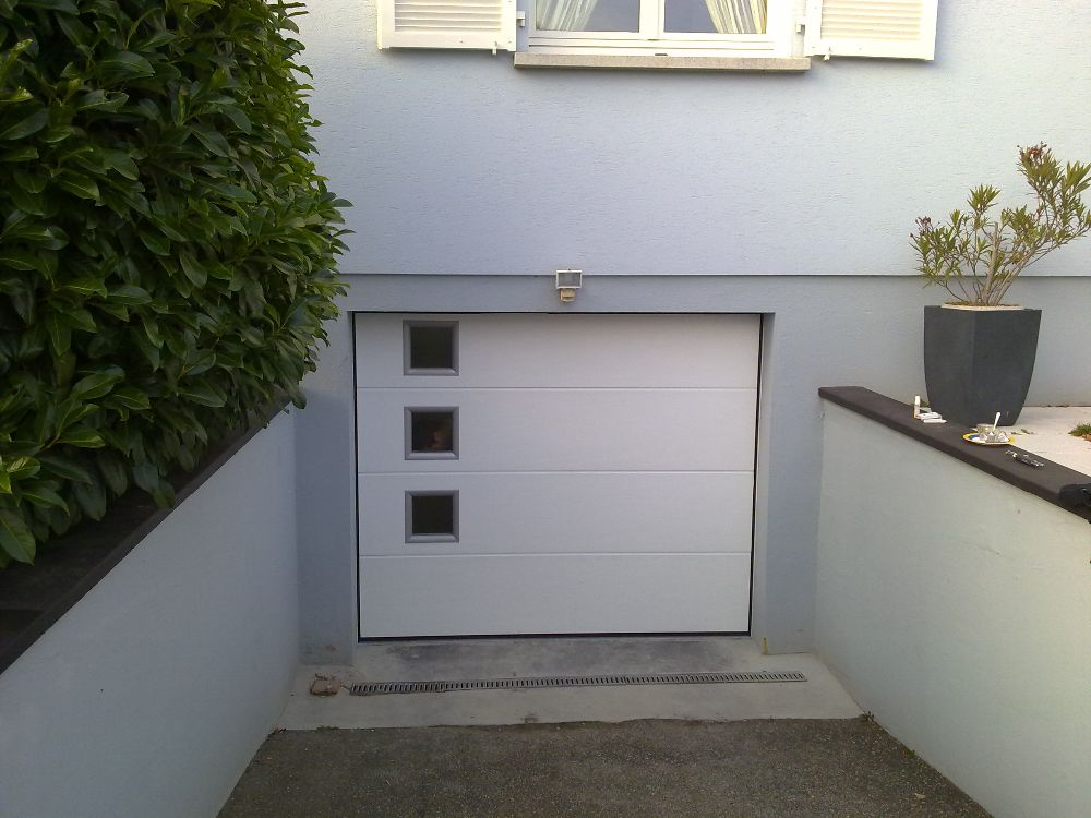 Portes de garages sectionnelles  Visioferm 68 (Mulhouse  Thann