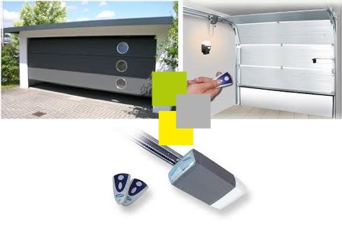 Portes de garages sectionnelles visioferm 68 mulhouse for Porte de garage sectionnelle haut de gamme